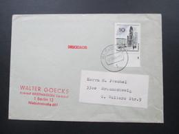 Berlin 1965 Das Neue BerlinNr. 254 EF Unterrand Mit Formnummer 4. Drucksache - Berlin (West)