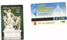 VATICANO-VATICAN-VATICAN CITY  CAT. C&C   6144 - MUSEI VATICANI  1506-2006. LACOONTE, STATUA ROMANA DEL I SEC.D.C. - Vatican