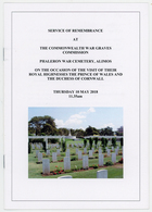 Prince Of Wales, Visit - (Brochure) - British Army