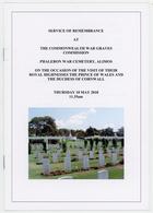 Prince Of Wales, Visit - (Brochure) - Brits Leger