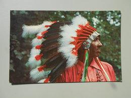 ETATS-UNIS NC NORTH CAROLINA STEVE SAUNOOKE CHEROKEE INDIAN .........ON THE EDGE OF THE GREAT SMOKY MOUTAINS NATIONAL PA - Etats-Unis