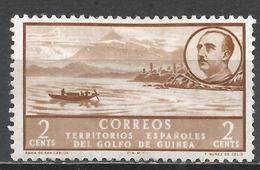 Spanish West Africa 1950. Scott #2 (M) Nomad Camp * - Espagne