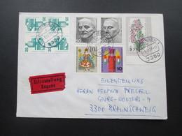 BRD Zusammendruck Aus MHB K10 Als 4er Block MiF Mit Berlin Marken. Eilbrief - BRD