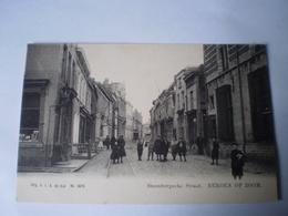 Bergen Op Zoom (N-Br.) Steenbergschestraat (geanimeerd) Ca 1900 - Bergen Op Zoom
