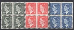 Belgique : 1953. COB N° 909/11 **, Fraîcheur Postale. Cote 2018 : 37, 50 € - Nuevos
