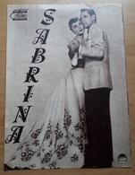 """Altes DNFP-Filmprogramm - AUDREY HEPBURN In/als """" SABRINA """" Mit Humphrey Bogart, William Holden ... - 180984 - Magazines"""