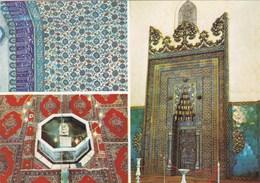 MARMARA - BURSA - Intérieur De La Mosquée Verte Et Du Mausolée Vert - Carte Multivues - - Turchia