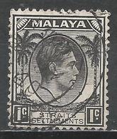 Straits Settlements 1937. Scott #238 (U) King George VI * - Malaya (British Military Administration)