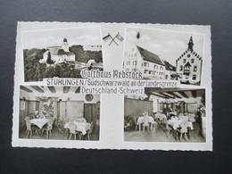 AK 1964 Gasthaus Rebstock Stühlingen / Südschwarzwald An Der Landesgrenze Deutschland - Schweiz - Hotels & Gaststätten