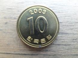 Koree Du Sud  10 Won  2003  Km 33 - Corée Du Sud