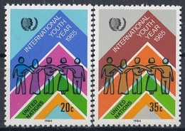 UNITED NATIONS New York 464-465,unused - New York – UN Headquarters