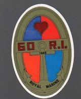 (Lons Le Saulnier 39 Jura ) ...autocollant  Du 60e R.I.  (PPP12571) - Documents