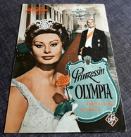 "Altes IFB-Filmprogramm - SOPHIA LOREN In ""Prinzessin Olympia"" Mit Maurice Chevallier, John Gavin ... - 181149 - Magazines"