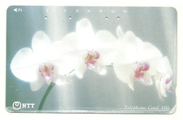 Giappone - Tessera Telefonica Da 105 Units T481 - NTT - Fleurs