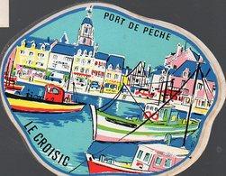 Le Croisic (44 Loire Atlantique)  Autocollant LE CROISIC  (PPP12572) - Vecchi Documenti