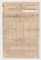 1902/3 - Cartella Di Pagamento Dell'esattoria Comunale. - Italia