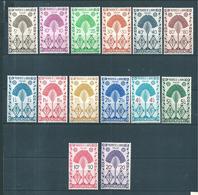 Colonie  Timbres  De Madagascar De 1943  N°265 A 278  Neuf * - Madagascar (1889-1960)