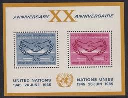 UNITED NATIONS New York Block 3,unused - New York – UN Headquarters