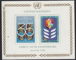UNITED NATIONS New York Block 7,unused - New York – UN Headquarters
