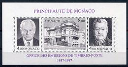 RC 8788 MONACO BF 39 CINQUANTENAIRE DE L'OFFICE DES EMISSIONS DE TIMBRES POSTE NEUF ** - Nuovi
