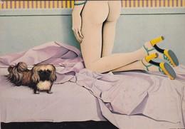 EDITIONS NUGERON  / H 132 / L EPAGNEUL DE PEKIN / PLAISIR 1974 - Künstlerkarten