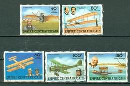 Centrafrique 1978 Yv PA 190/194 Obl. - Centrafricaine (République)