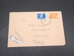 YOUGOSLAVIE - Enveloppe En Recommandé De Skopje En 1948 Pour La Suisse , Affranchissement Plaisant - L 17242 - 1945-1992 Sozialistische Föderative Republik Jugoslawien