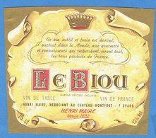 39- Arbois - Henri Maire - Le Biou - Rotwein