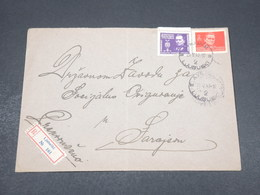 YOUGOSLAVIE - Enveloppe En Recommandé De Ljubuski En 1947, Affranchissement Plaisant - L 17243 - 1945-1992 Sozialistische Föderative Republik Jugoslawien