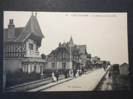 14 - Ver Sur Mer - CPA - Le Boulevard De La Mer - édit Monceaux N° 10 - TBE - - Andere Gemeenten