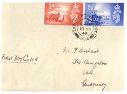 (101) CH. IS ? Channel Islands ? FDC Cover - 1948 - Gran Bretagna (vecchie Colonie E Protettorati)