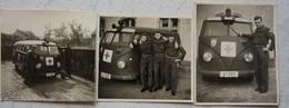 Photo VAN VOLKSWAGEN Camionnette Armée Belge ABL Belgische Leger Ambulance - Automobiles