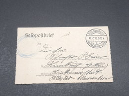 ALLEMAGNE - Carte En Feldpost En 1916 - L 17251 - Covers & Documents
