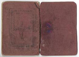 Passeport - Reisepass LIECHTENSTEIN 1915 - Historische Dokumente