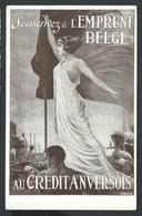 +++ CPA - Banque - L'Emprunt Belge - Crédit Anversois - Carte Publicitaire - Pub Publicité - Litho  // - Banques