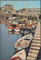 Mevagissey Harbour, Cornwall, C.1960s - J Arthur Dixon Postcard - England