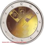ESTONIA - 2 Euro 2018 - Stati Baltici - UNC!!! - Estonia