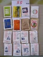 SUGAR FULL BUSTINA ZUCCHERO PIENA - S8 -  ITALIA LOTTO BLOCCO CON PICCOLI BAR RISTORANTI - SOLO 15 CENT. CAD. VEDI FOTO - Sugars