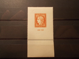 Timbre France Centenaire Du Timbre Neuf** 1949 N°841 (2) - Neufs