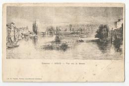 55 Verdun 1870-71 Vue Sur La Meuse Ed Librairie Vacher - Verdun
