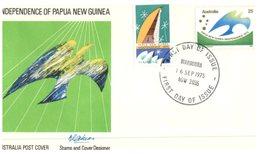 (102) Australia FDC Cover - Papua New Guinea - 1975 - Maroubra Postmark - Premiers Jours (FDC)
