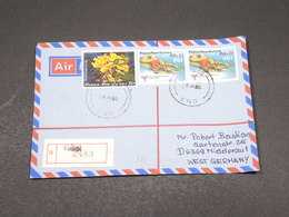 PAPOUASIE NOUVELLE GUINÉE - Enveloppe En Recommandé De Tobol Pour L 'Allemagne En 1983 - L 17268 - Papouasie-Nouvelle-Guinée