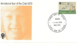 (102) Australia FDC Cover - Year Of Children - 1979 - Parkes & Bankstown Postmark (2 Covers) - FDC