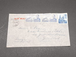 ESPAGNE - Enveloppe De Barcelone Pour La Suisse En 1954 - L 17269 - 1951-60 Cartas
