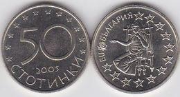Bulgaria - 50 Stotinki 2005 UNC EU Ukr-OP - Bulgaria