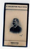 2e Collection Felix Potin - Ca 1920 - REAL PHOTO - Descaves, Homme De Lettres - Félix Potin