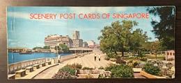 AK  SINGAPORE   8 POSTCARDS IN ALBUM - Singapour