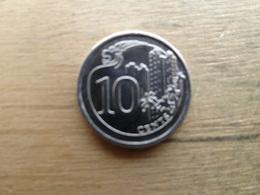 Singapour   10  Cents  2013  Km !!! - Singapour