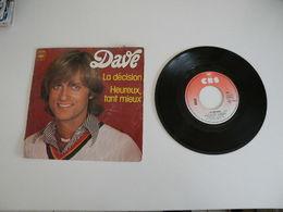 Dave - La Décision / Heureux Tant Mieux (1976) - Vinyl Records