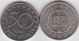 Bulgaria - 50 Stotinki 2007 UNC EU Ukr-OP - Bulgarije